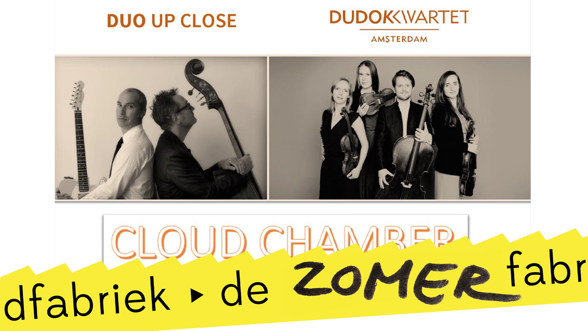 Duo Up Close & Dudok Quartet - Cloud Chamber | tweede concert