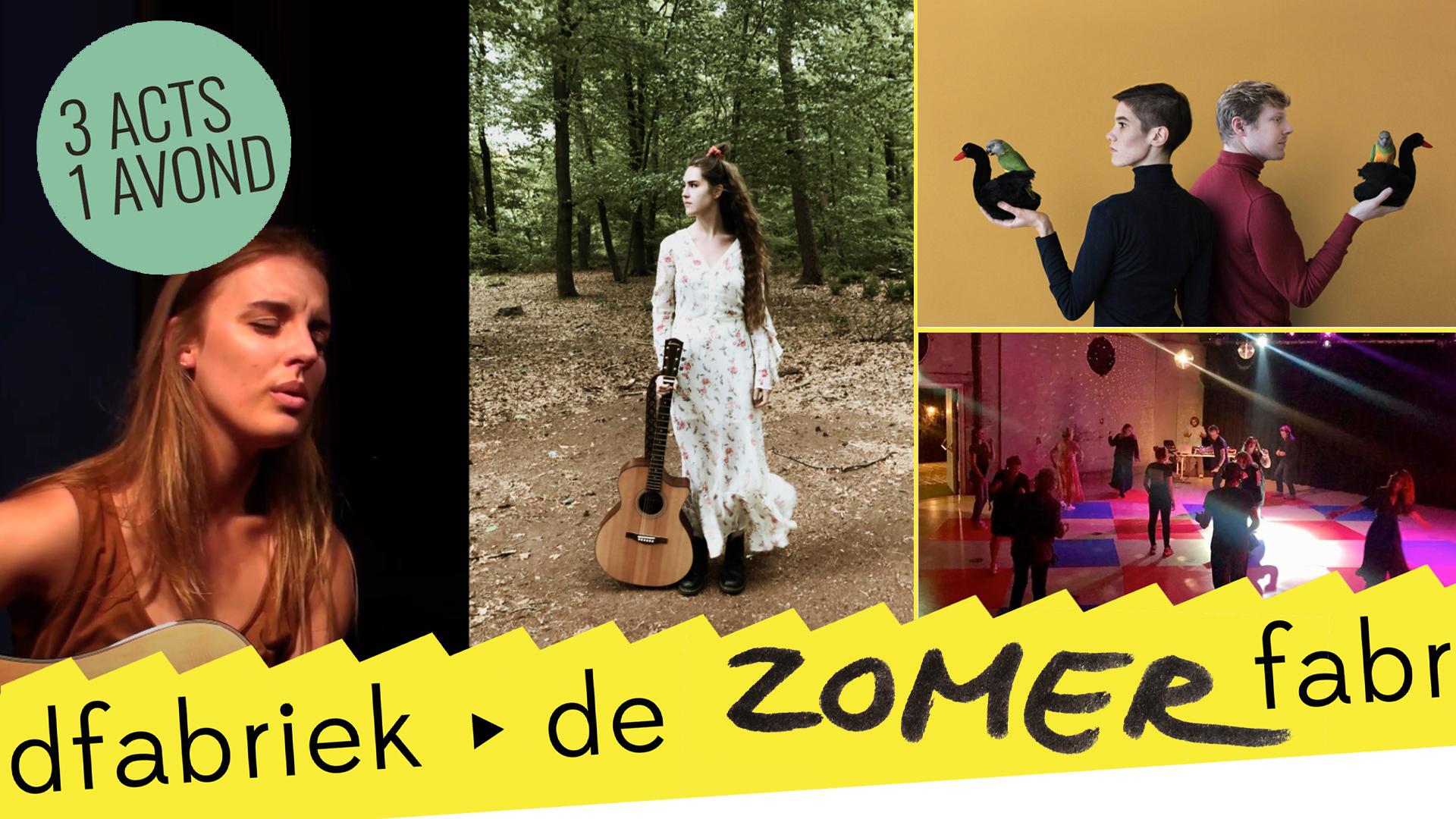 Geannuleerd: Pas de Cygne > Hannah Kaldewaij & Fabienne Julie > silent disco: DJ Rick Snel