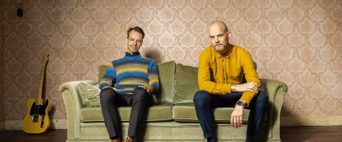 Jesse van Ruller en Maarten Hooghuis