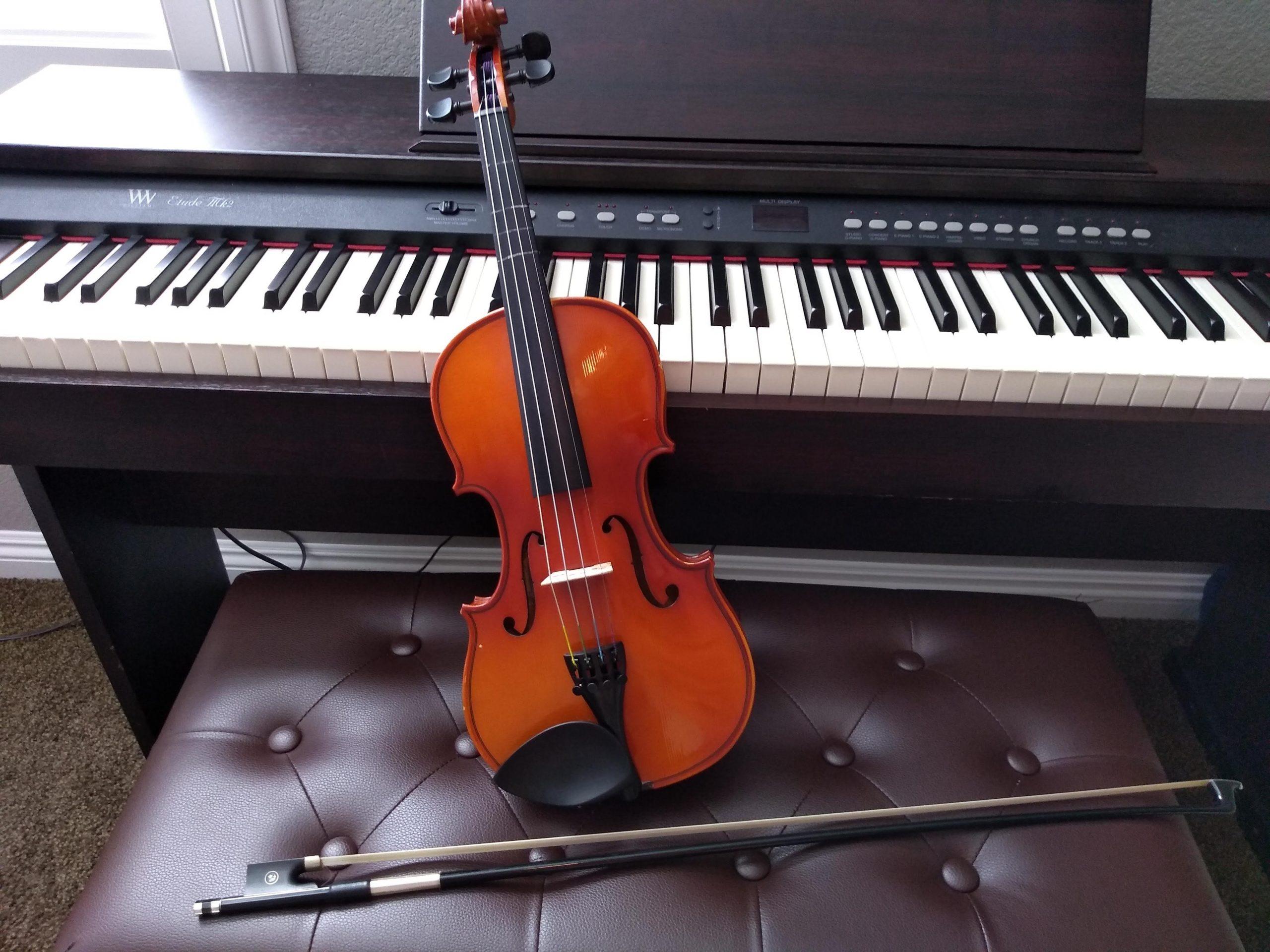 Piano- en viooldag